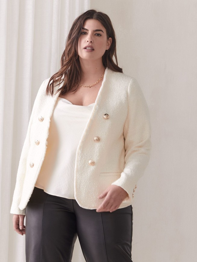 Plus size outerwear on sale